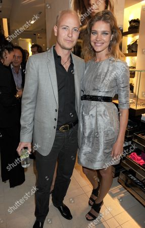 Lord Justin Portman and Natalia Vodianova