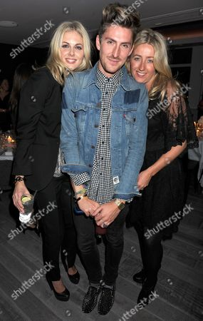 Donna Air, Henry Holland and guest