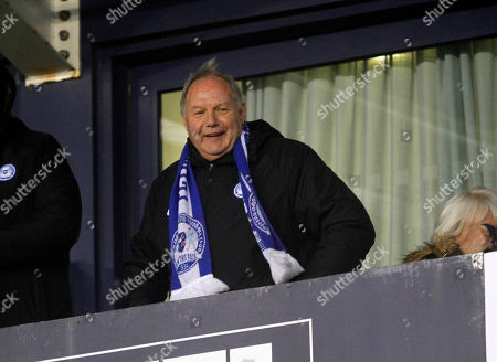 Peterborough Chairman Barry Fry during the Sky Bet League 1 match at Montgomery  Waters Meadow, Shrewsbury Picture by David Linney   15/12/2018