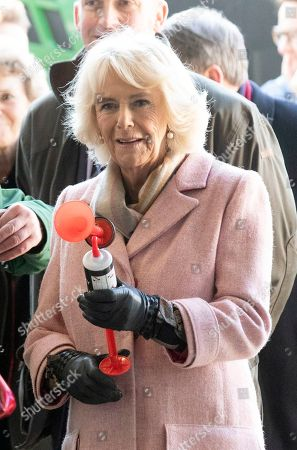 Camilla Duchess of Cornwall visit to Wiltshire