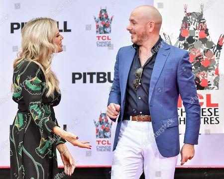 Ellen K and Pitbull