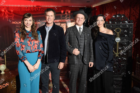 Lauren Lapkus, Will Ferrell, John C Reilly and Rebecca Hall