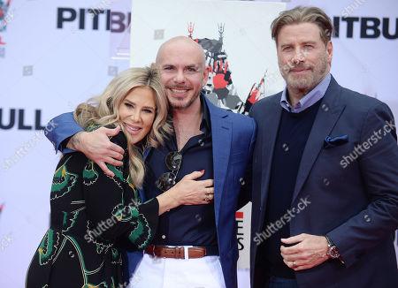 Ellen K, Pitbull and John Travolta