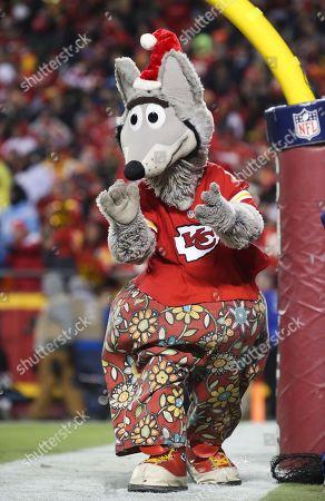 Kc Wolf Kansas City Chiefs Mascot Entertains Editorial Stock Photo Stock Image Shutterstock