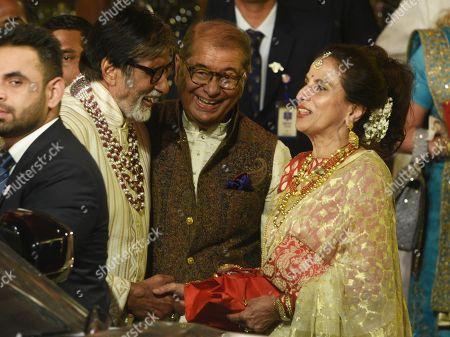 Amitabh Bachchan and Shobha De