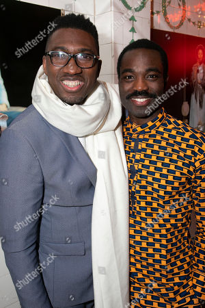 Stock Picture of Kwame Kwei-Armah (Artistic Director) and Paapa Essiedu (Chilford)