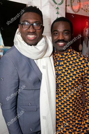 Kwame Kwei-Armah (Artistic Director) and Paapa Essiedu (Chilford)