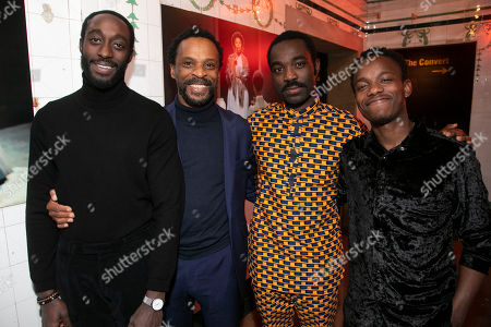 Editorial image of 'The Convert' party, After Party, London, UK - 14 Dec 2018