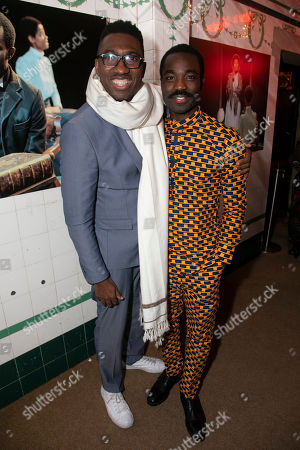 Stock Photo of Kwame Kwei-Armah (Artistic Director) and Paapa Essiedu (Chilford)