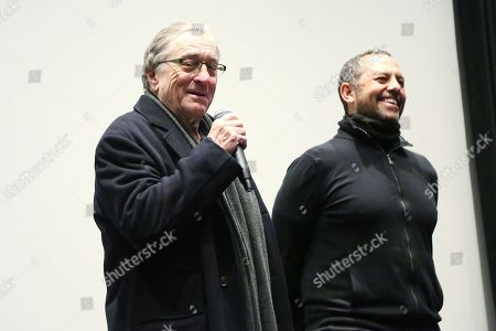 Stock Photo of Robert Teitel, Robert De Niro