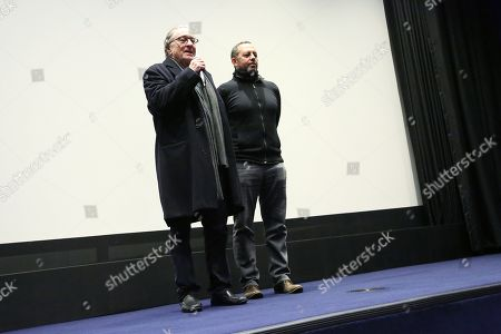"Editorial image of Robert De Niro hosts ""The Hate U Give"" screening with film's producer Robert Teitel, New York, USA - 14 Dec 2018"