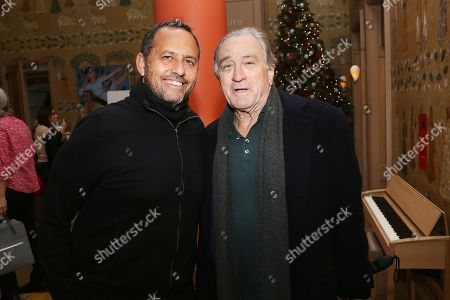"Editorial picture of Robert De Niro hosts ""The Hate U Give"" screening with film's producer Robert Teitel, New York, USA - 14 Dec 2018"