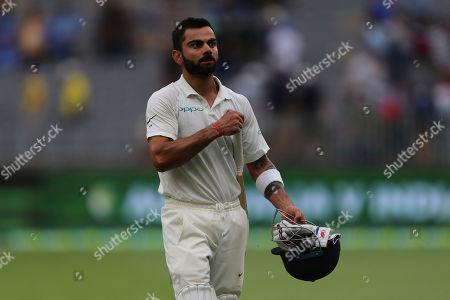 Editorial image of India Cricket, Perth, Australia - 15 Dec 2018