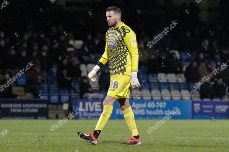 Wycombe Wanderers goalkeeper Stephen Henderson (28), Sky Bet, during the EFL Sky Bet League 1 match between Gillingham and Wycombe Wanderers at the MEMS Priestfield Stadium, Gillingham