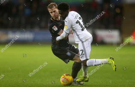 Editorial picture of Swansea City v Sheffield Wednesday - SkyBet Championship - 15 Dec 2018