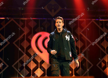 G-Eazy, Gerald Earl Gillum. G-Eazy performs during the Power 96.1 Jingle Ball 2018 at State Farm Arena, in Atlanta