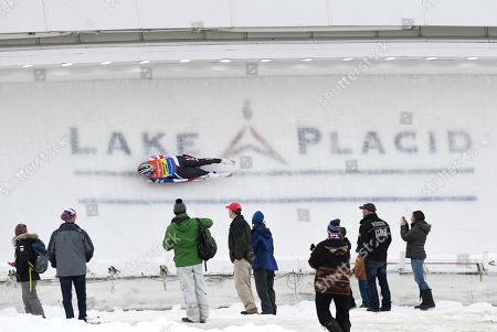 Editorial image of World Cup Luge, Lake Placid, USA - 15 Dec 2018