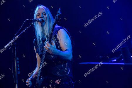 Editorial picture of Nightwish in concert, Helsinki, Finland - 15 Dec 2018