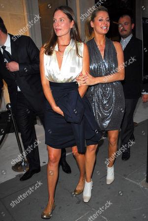 Camilla Johnson-Hill and Tess Daly