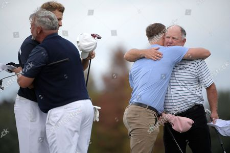 Editorial photo of Father Son Challenge Golf, Orlando, USA - 15 Dec 2018
