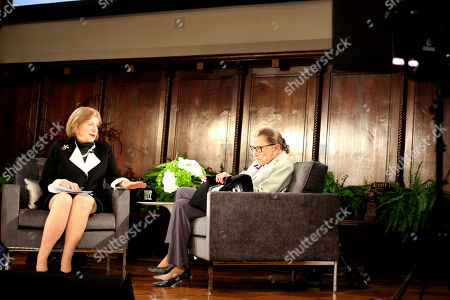 Ruth Bader Ginsburg, Nina Totenberg. NPR's Nina Totenberg, left, and U.S. Supreme Court Justice Ruth Bader Ginsburg participate in the David Berg Distinguished Speakers Series at Museum of the City of New York, in New York. NPR legal correspondent Totenberg led a question-and-answer session about Ginsburg's quarter century on the Supreme Court, and about her life