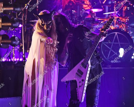 Editorial picture of In This Moment perform at Revolution Live, Fort Lauderdale, Florida, USA - 15 Dec 2018