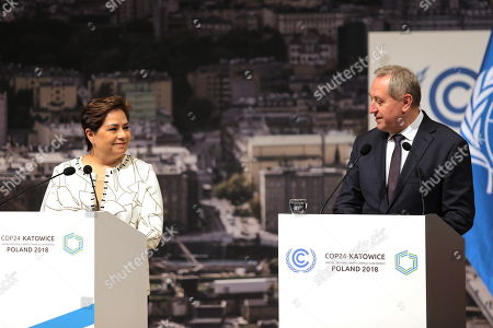 Editorial picture of COP24 summit on climate change in Katowice, Poland - 16 Dec 2018