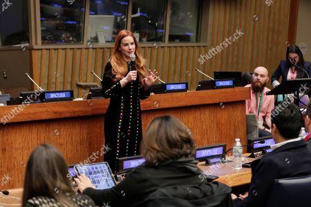 Editorial photo of Latino Impact Summit at UN Headquarters, New York, USA - 11 Dec 2018