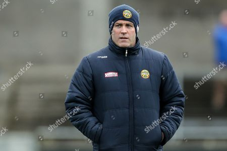 Dublin vs Offaly. Offaly manager Kevin Martin