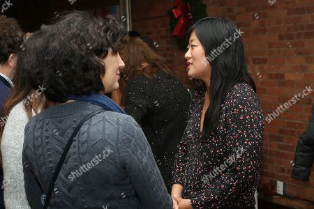 Christina Choe (Writer/Director) with guests