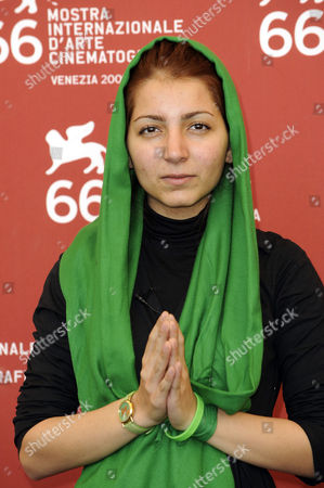 Stock Image of Hana Makhmalbaf