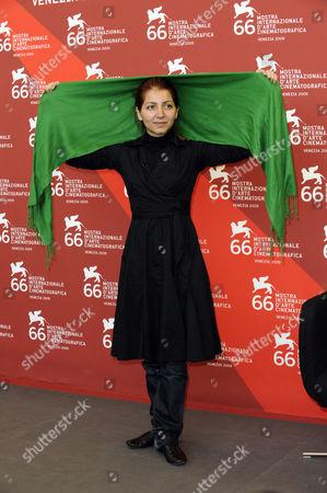 Stock Photo of Hana Makhmalbaf