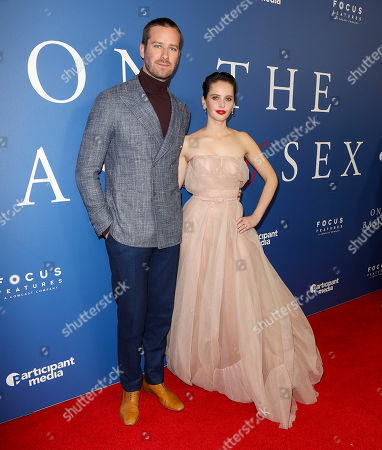 'On the Basis of Sex' film screening, Arrivals, New York