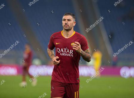 Editorial picture of AS Roma v Genoa, Serie A, Stadio Olimpico, Rome, Italy - 16 Dec 2018