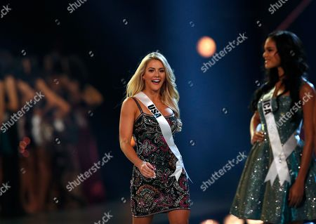 Miss USA Sarah Rose Summers competes during the Miss Universe 2018 at Impact Arena in Bangkok, Thailand, 17 December 2018. Women representing 94 nations participate in the 67th Miss Universe 2018 beauty pageant in Bangkok.