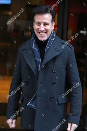 Anton Du Beke out and about, London