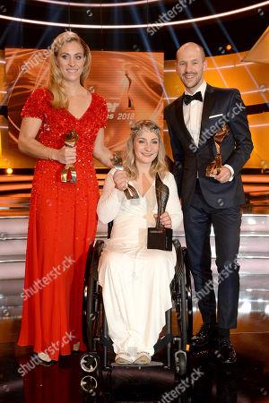 Angelique Kerber, Kristina Vogel, Patrick Lange