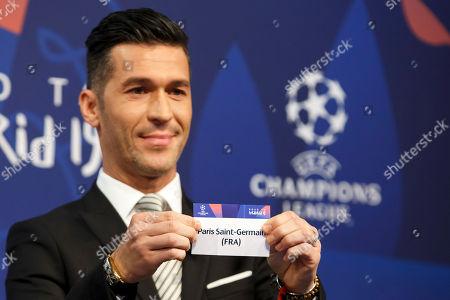 Uefa Champions League Round 16 Draw Nyon Stock Photos Exclusive