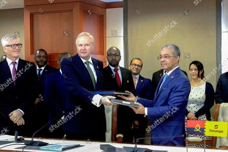 Editorial image of Sonangol and BP sign bilateral agreements, Luanda, Angola - 17 Dec 2018