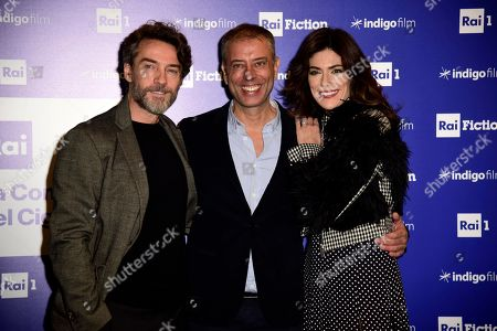 Editorial photo of 'The Company Of The Swan' TV show photocall, Milan, Italy - 17 Dec 2018