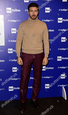 Editorial picture of 'The Company Of The Swan' TV show photocall, Milan, Italy - 17 Dec 2018