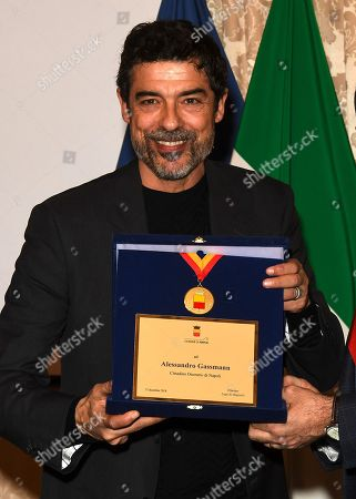 Alessandro Gassmann receives honorary citizenship of Naples