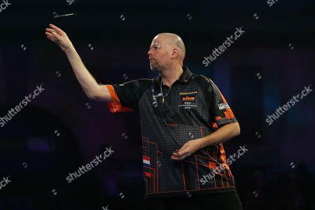 Raymond van Barneveld during the World Championship Darts 2018 at Alexandra Palace, London