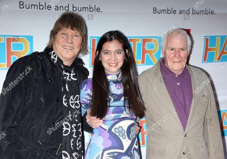 James Rado, Diane Paulus and Galt MacDermot