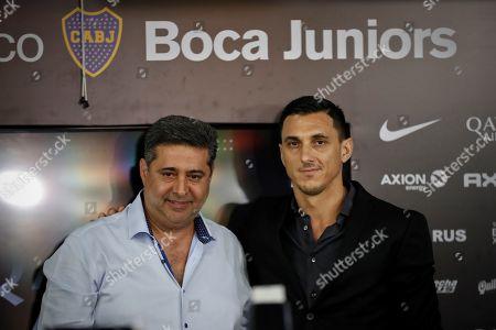 Editorial image of Former Argentinian player Nicolas Burdisso new manager of Boca Juniors, Buenos Aires, Argentina - 17 Dec 2018