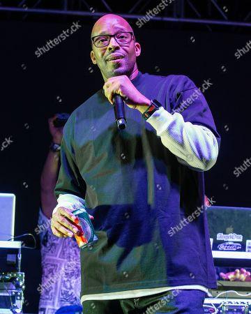 Stock Photo of Rapper Warren G