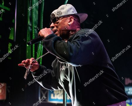 Stock Picture of Tray Deee of Tha Eastsidaz