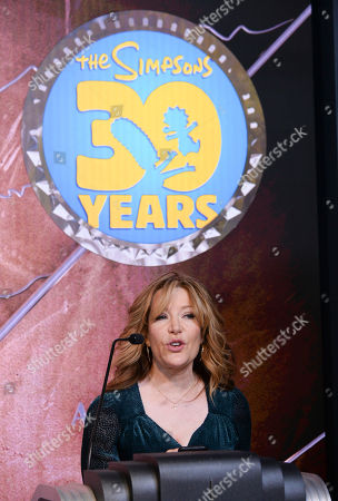 Editorial picture of 'The Simpsons' Celebrate 30th Anniversary at Empire State Building, New York, USA - 17 Dec 2018