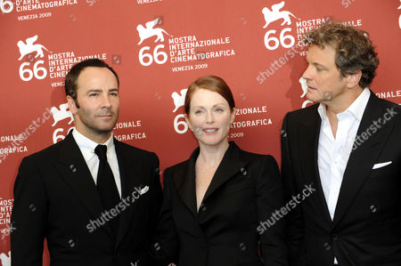 Tom Ford, Julienne Moore, Colin Firth