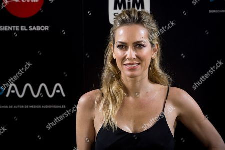 Kira Miro poses as she arrives to the awards gala of MiM Series Festival held in Madrid, Spain, 17 December 2018.